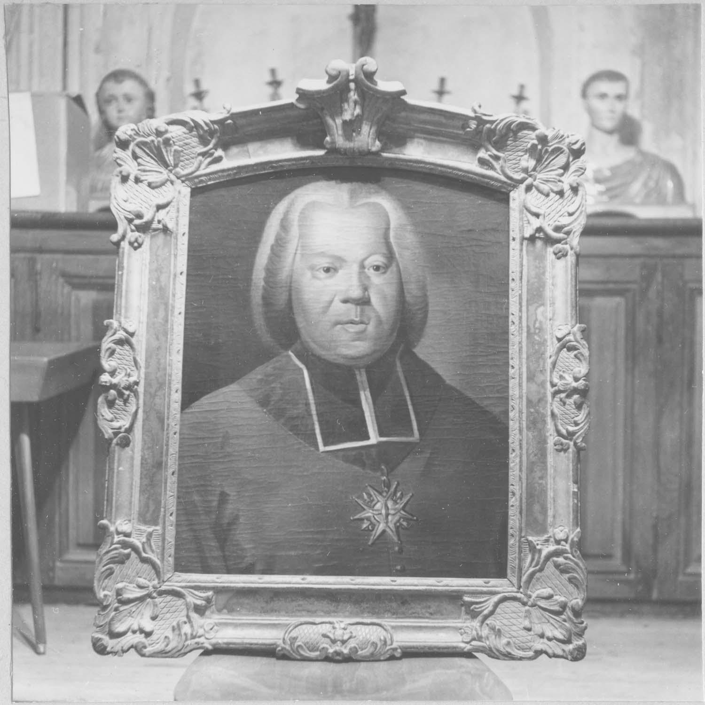 Tableau, cadre : Monseigneur Arthur-Richard Dillon, dernier archevêque de Narbonne