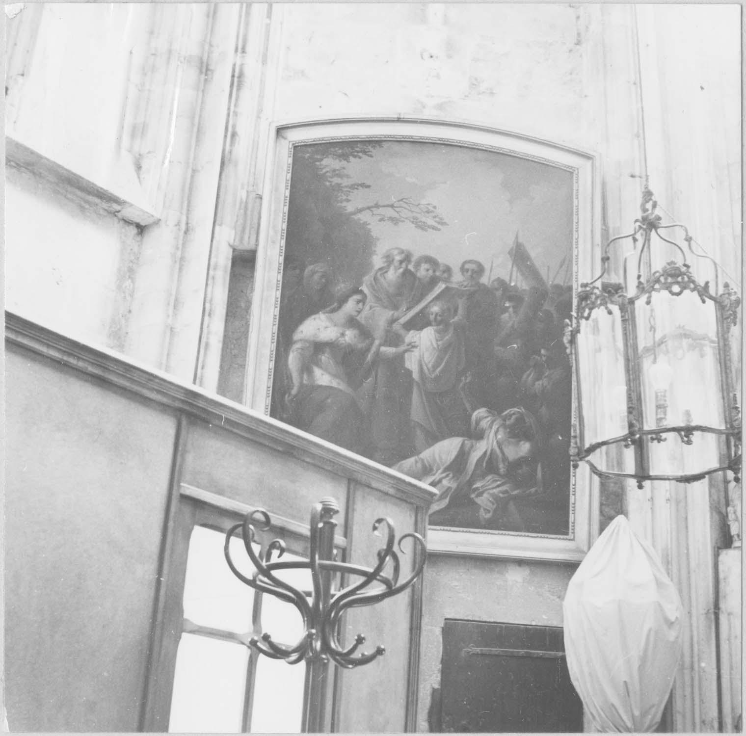 tableau : Invention de la Sainte Croix