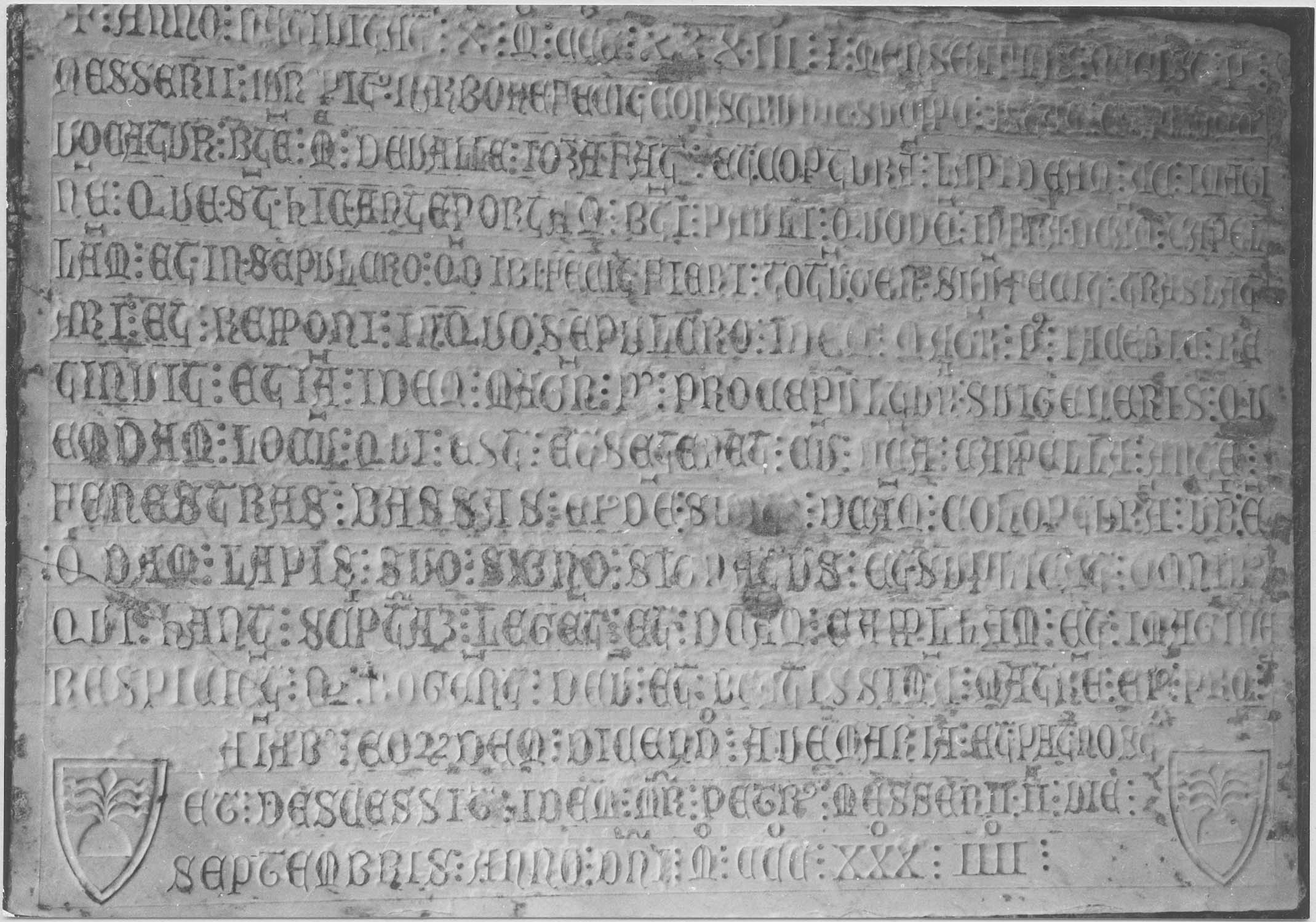 plaque commémorative de Pierre Messerii