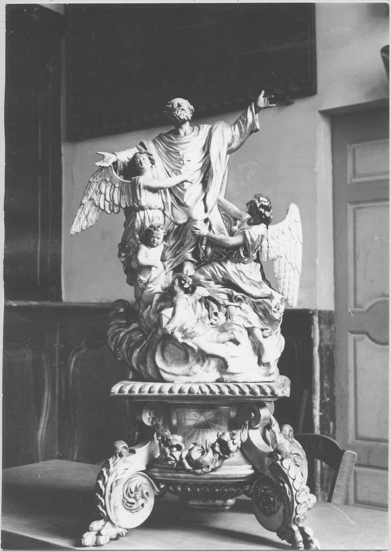 Groupe sculpté : L'Apothéose de saint Paul de Narbonne