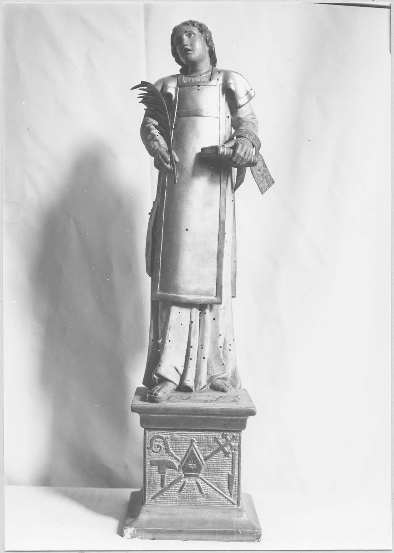 statuette : Saint Etienne