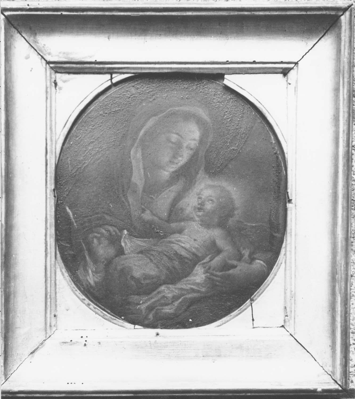 peinture : Vierge à l'enfant