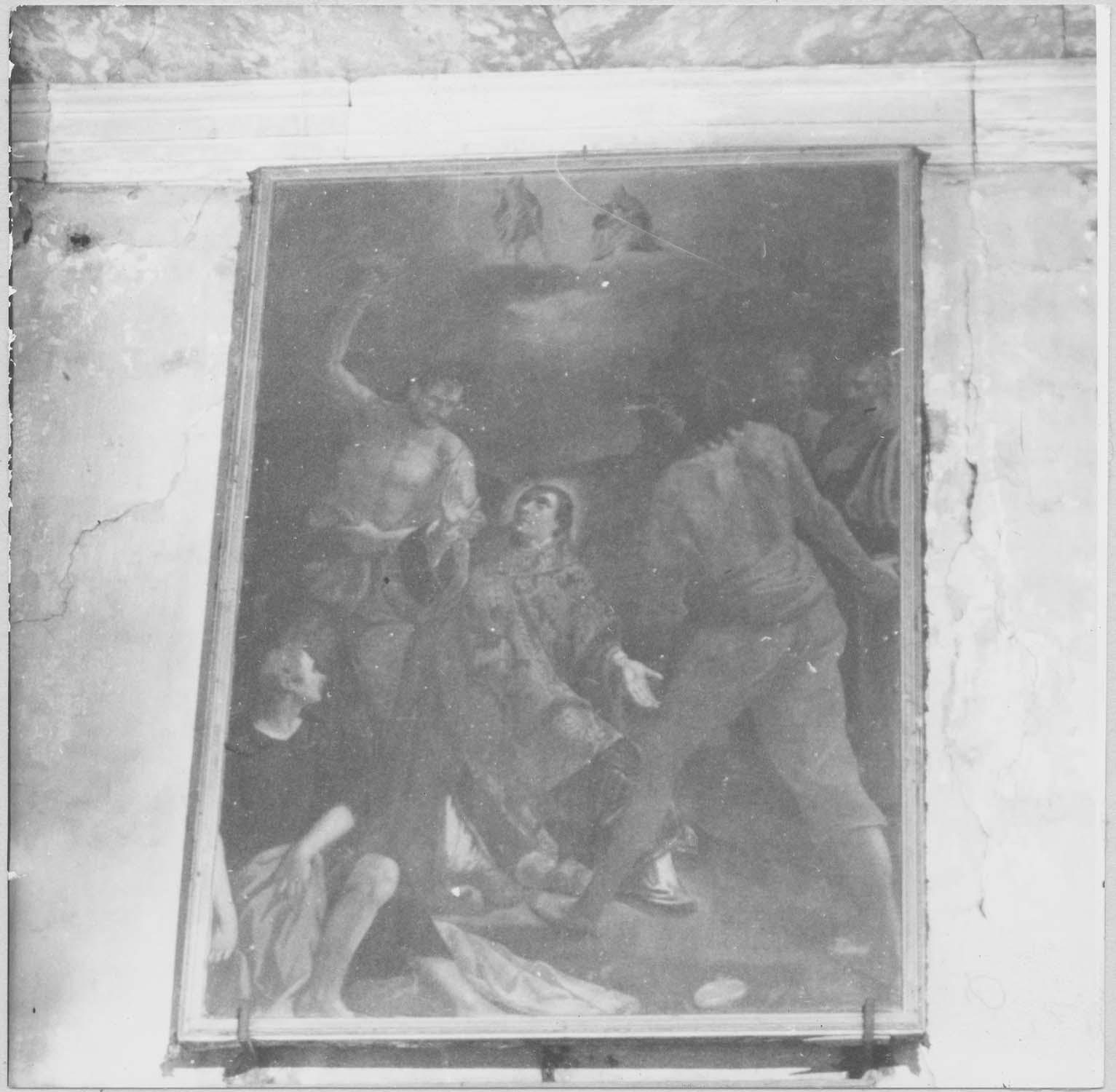 tableau : Lapidation de saint Etienne