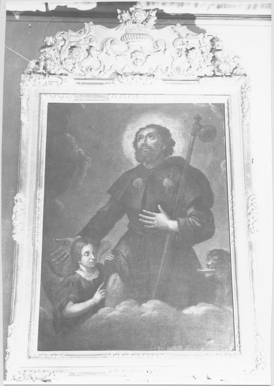 tableau : Saint Roch, cadre