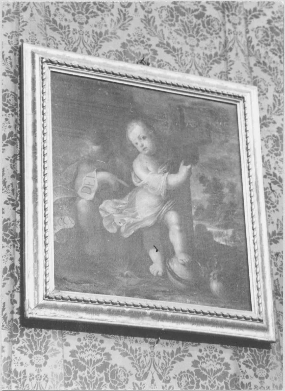 tableau : L'enfant Jésus et saint Jean-Baptiste enfant