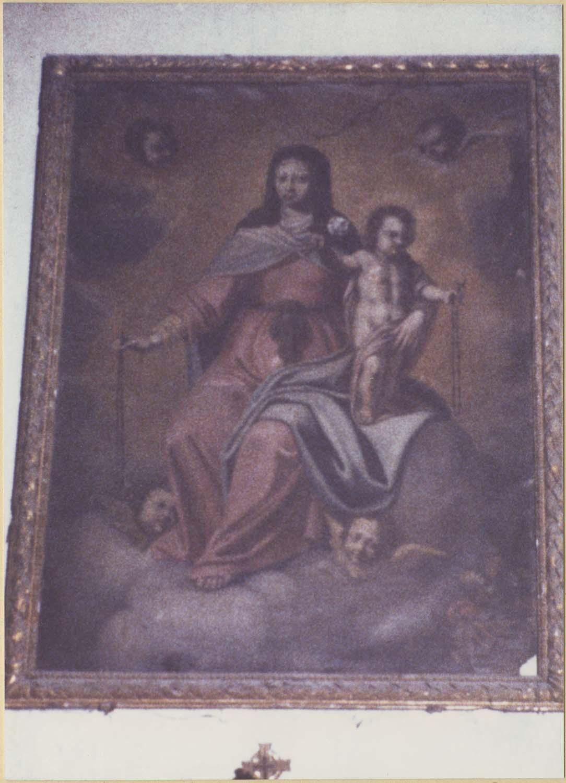 tableau : Notre-Dame du Rosaire, cadre