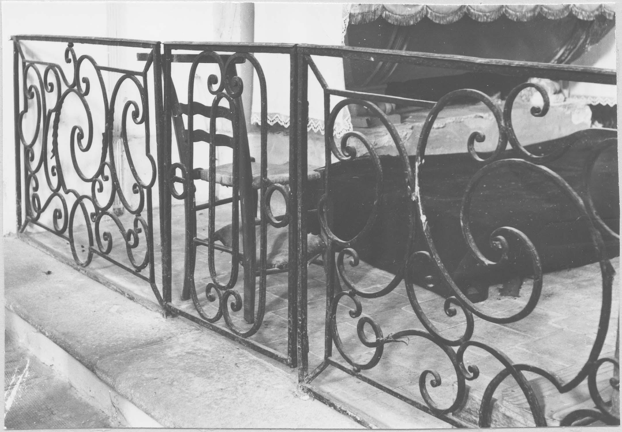 clôture de chapelle (grille de communion)