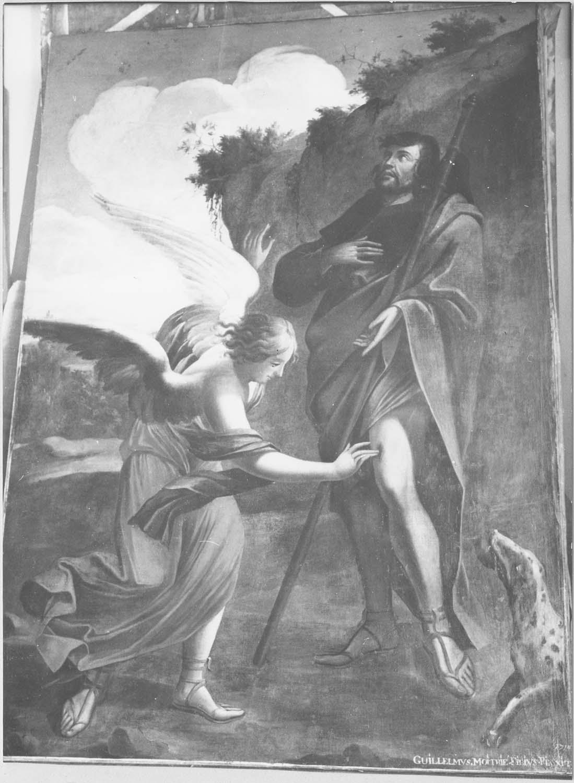 tableau : Saint Roch et l'Ange