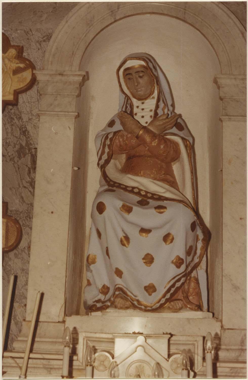 statue : Vierge de douleurs