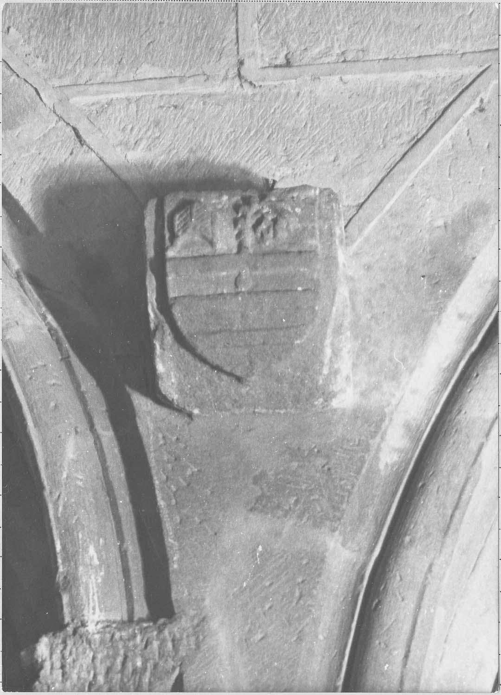 Armoiries de l'évêque Pierre de Soybert
