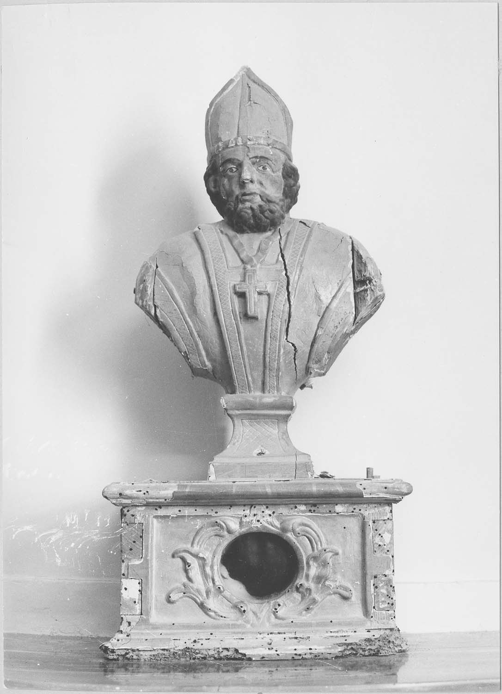 buste-reliquaire: évêque non identifié