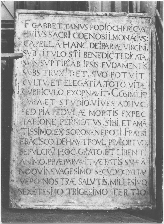plaque commémorative de Guillaume de Brettes de Puichéric