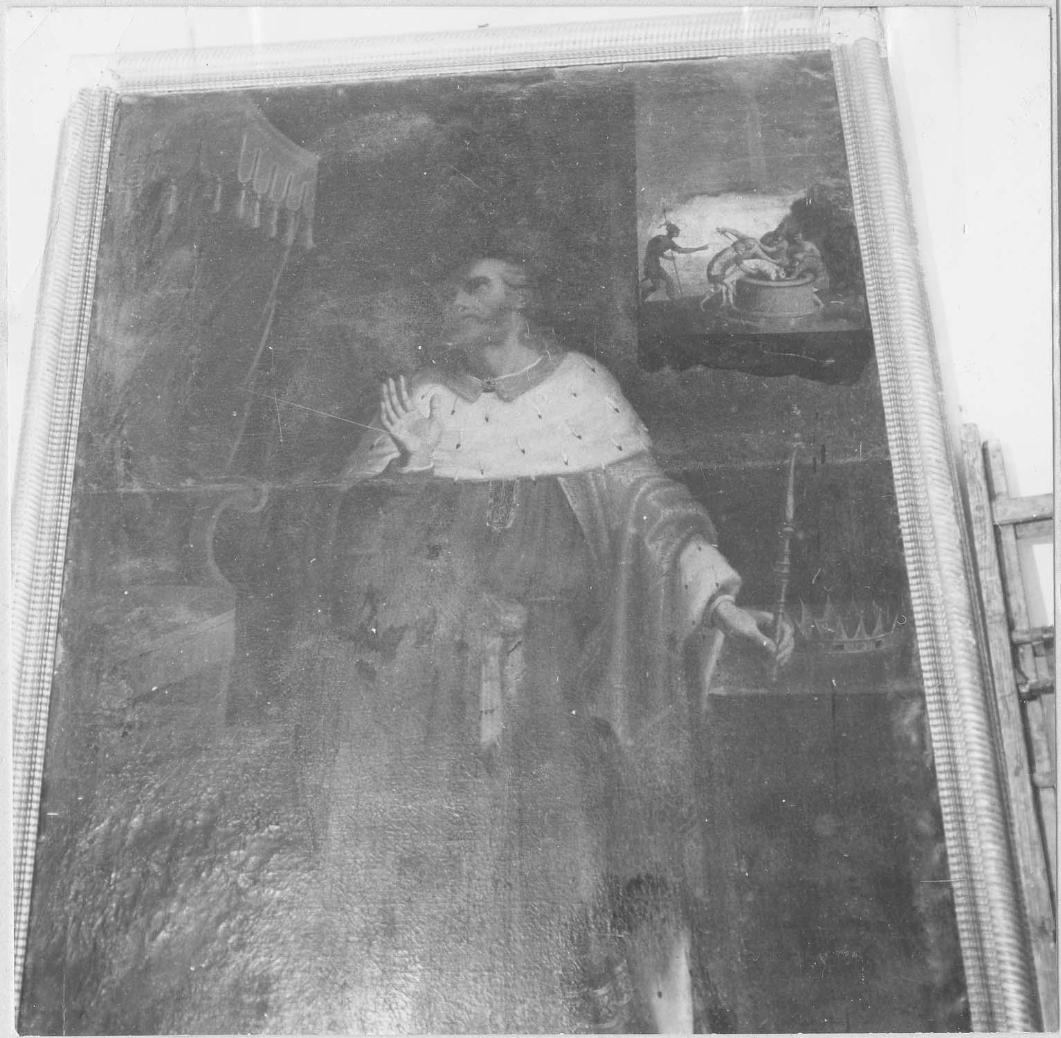 Tableau : Saint Sigismond, roi et martyr