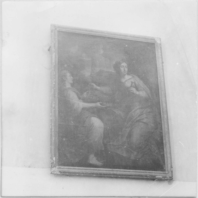 tableau : Sainte Hélène (ou sainte Catherine d'Alexandrie)