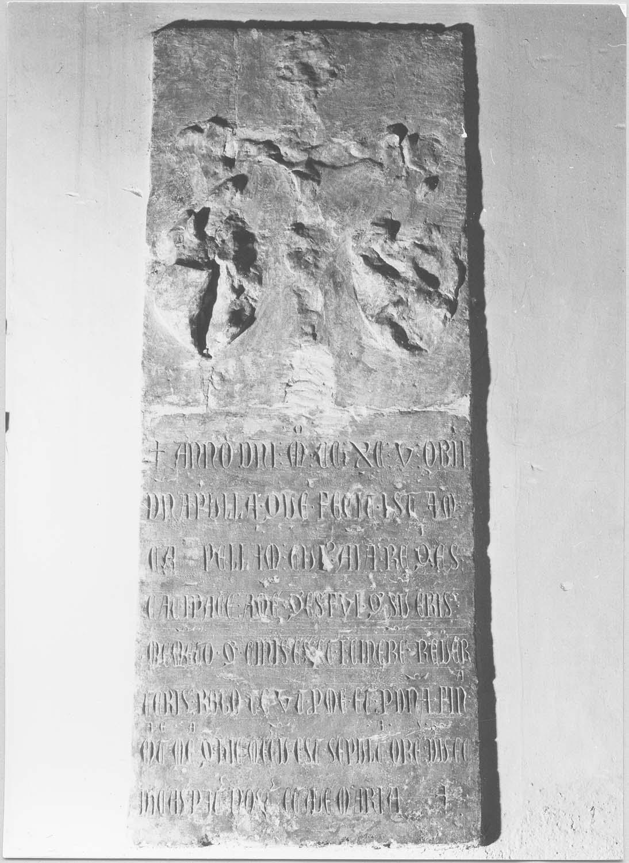 plaque funéraire de Dna Pulla