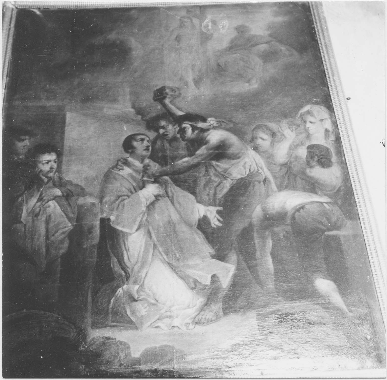 6 tableaux : Le Martyre de saint Etienne, Le Magnificat, L'Apothéose de saint Blaise, Le Christ au Jardin des Oliviers, La Cène, Sainte Anne