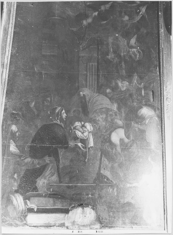 Tableau : La Purification de la Vierge