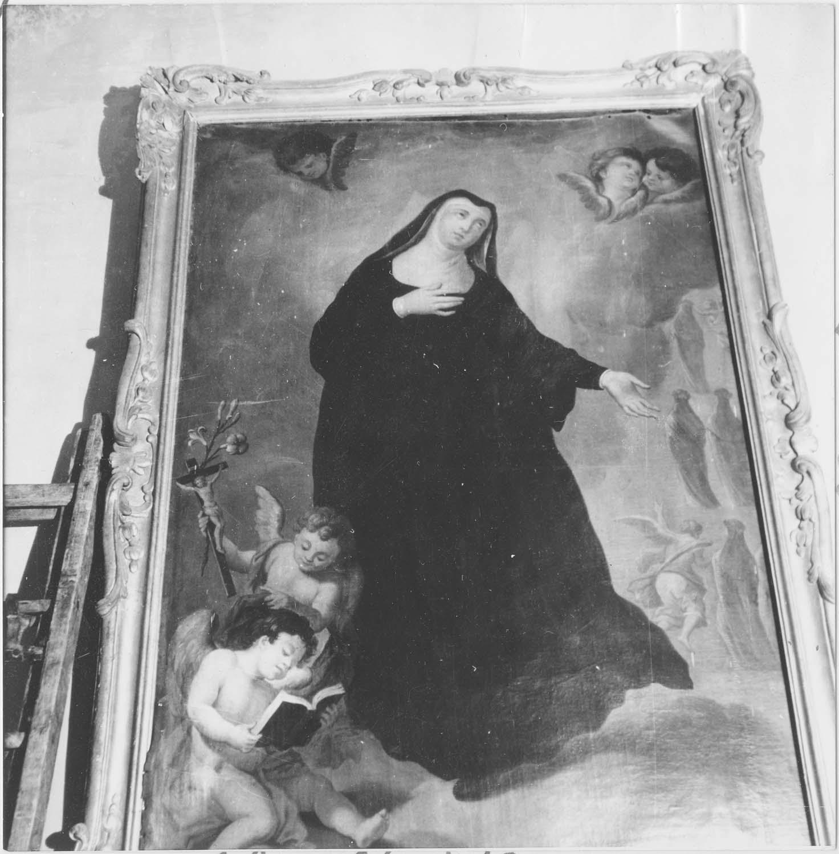 Tableau : Sainte Angèle de Mérici