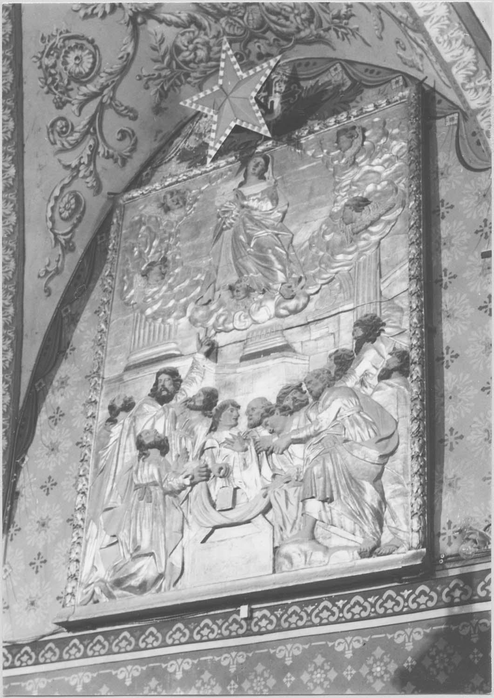 relief (panneau sculpté) : L'Assomption