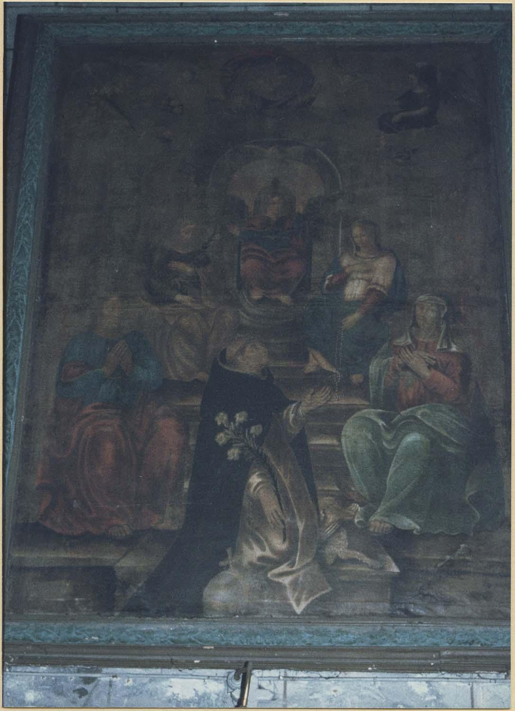 tableau : La Remise du Rosaire à saint Dominique