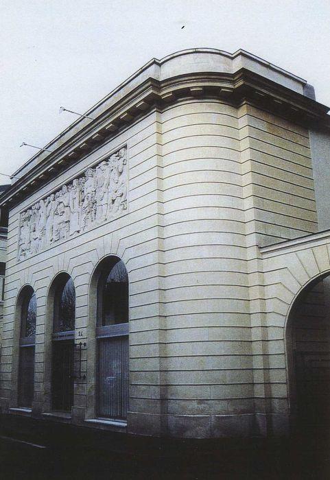 Chambre de Commerce et d'Industrie de l'Indre: Façade sud, vue générale