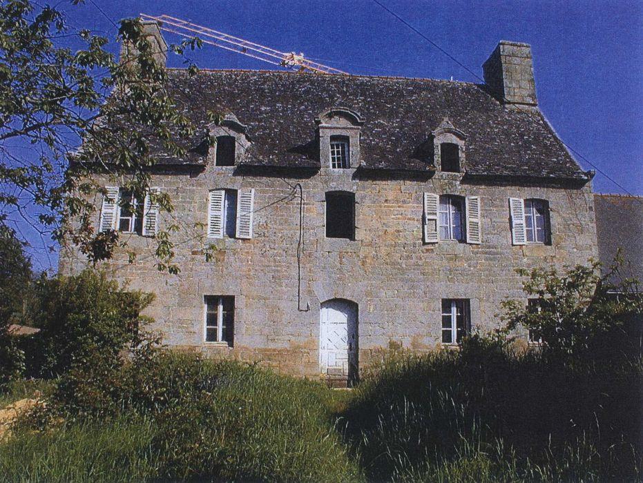 Manoir de l'Isle: Façade sud, vue générale