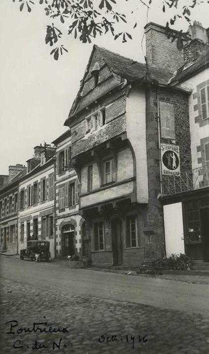 Maison du 16e siècle: Façade sur rue, vue générale