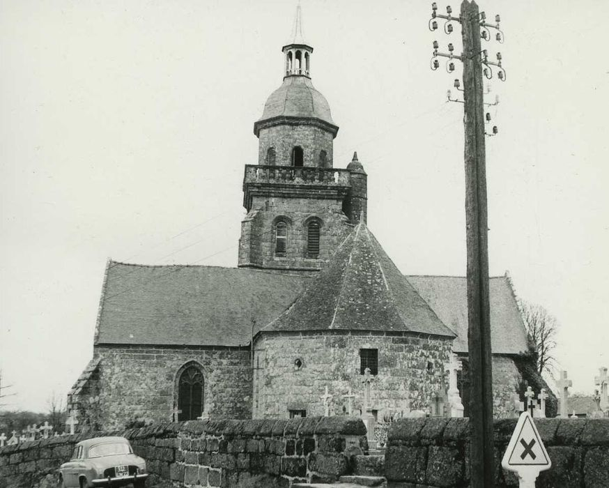 Eglise Saint-Gilles: Chevet, vue générale