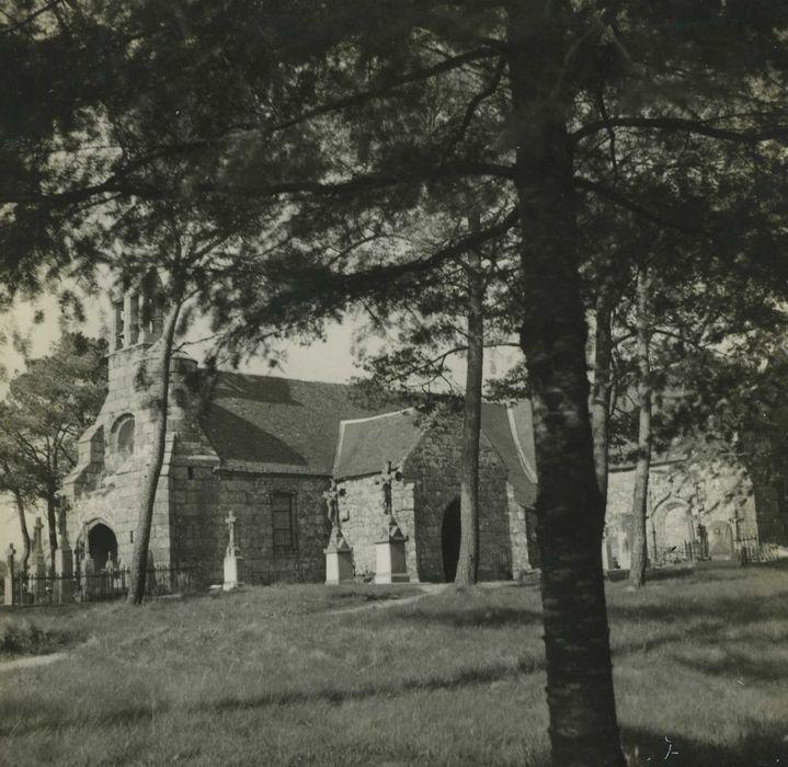 Chapelle de Burthulet: Ensemble sud-ouest, vue partielle