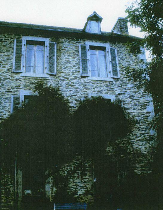 Maison de Sérusier, façade sur jardin, vue partielle