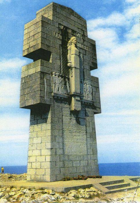 Monument aux Bretons de la France libre, dit Croix de Penhir: Vue générale