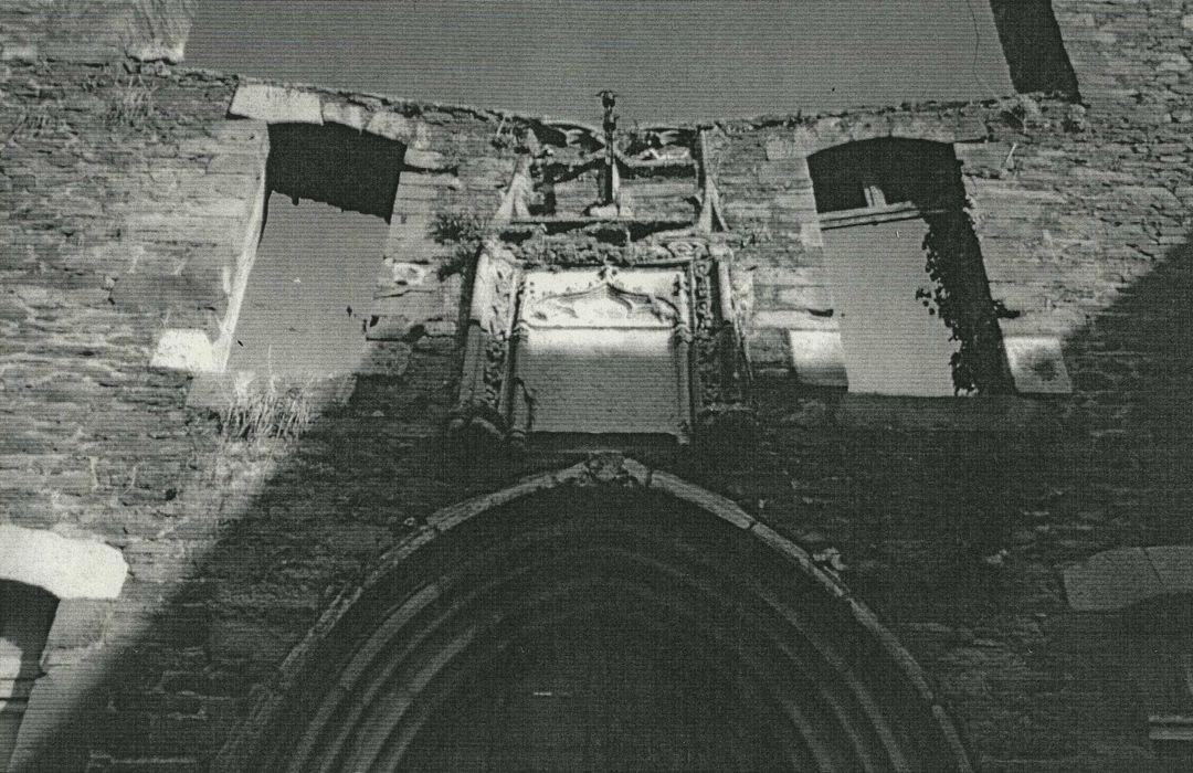 Vestiges du couvent des Augustins: Vue partielle
