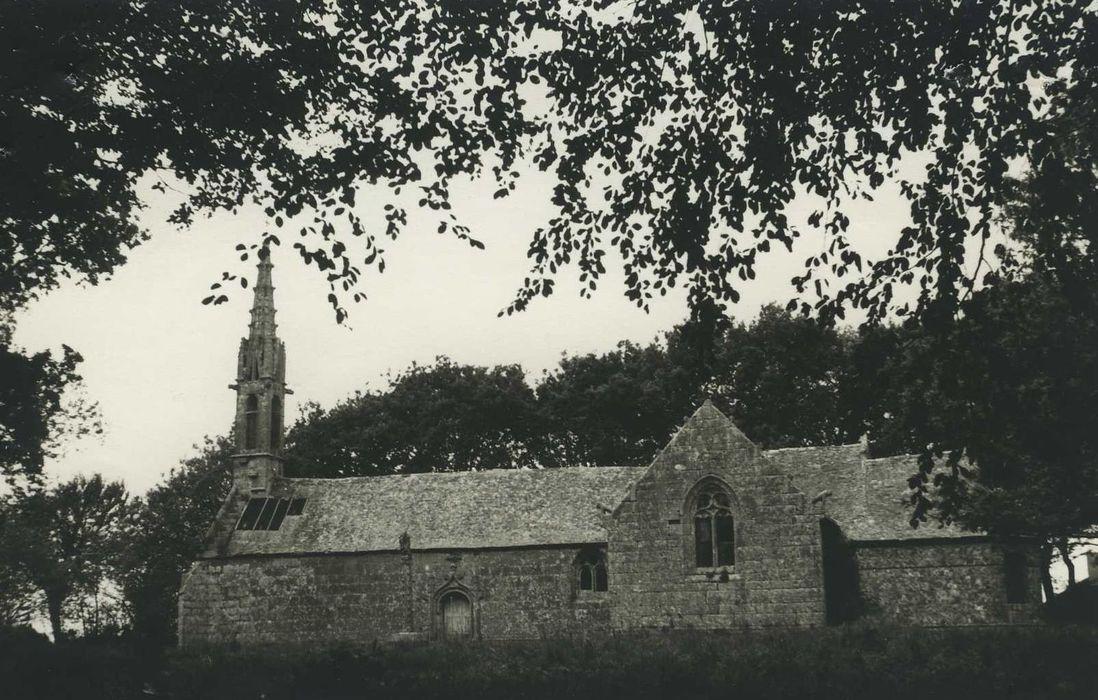 Chapelle Saint-Jean-Botlan: Ensemble sud, vue générale