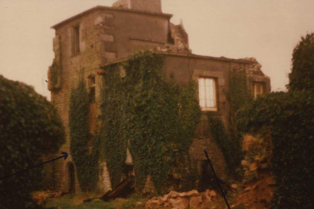 Manoir de Roscervo: Ensemble nord-ouest, vue générale