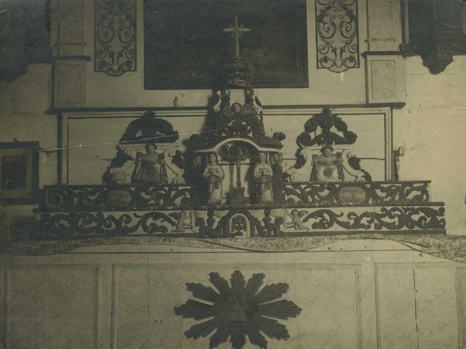 tabernacle, dradins d'autel: Vue générale