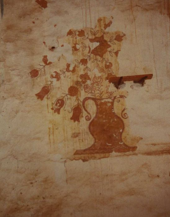 Chapelle Saint-Joseph: Peinture monumentale, détail