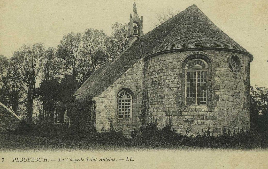 Chapelle Saint-Antoine: Chevet, vue générale