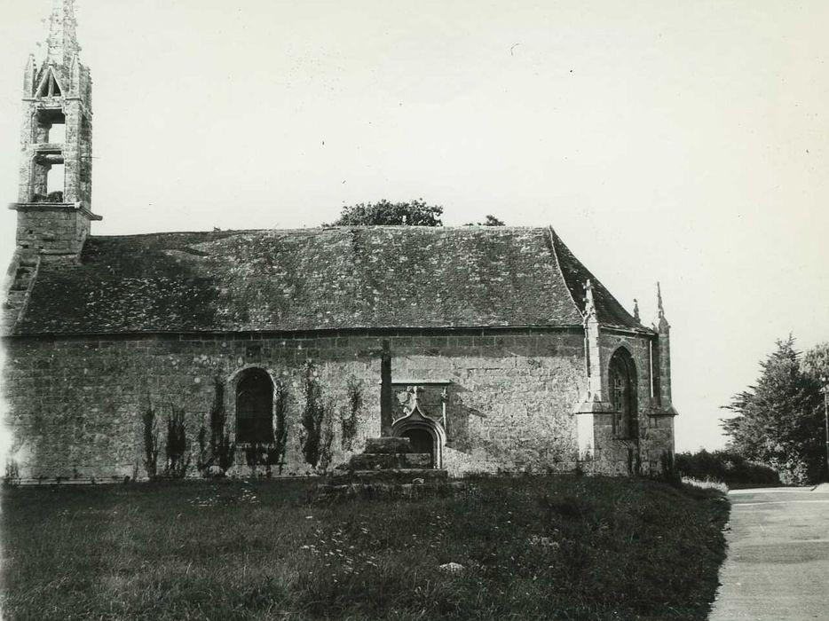 Chapelle Saint-Sébastien: Ensemble sud, vue générale