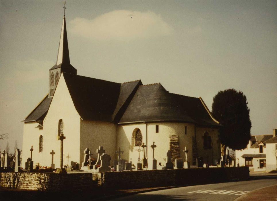 Eglise de Moigné: Ensemble sud-est, vue générale