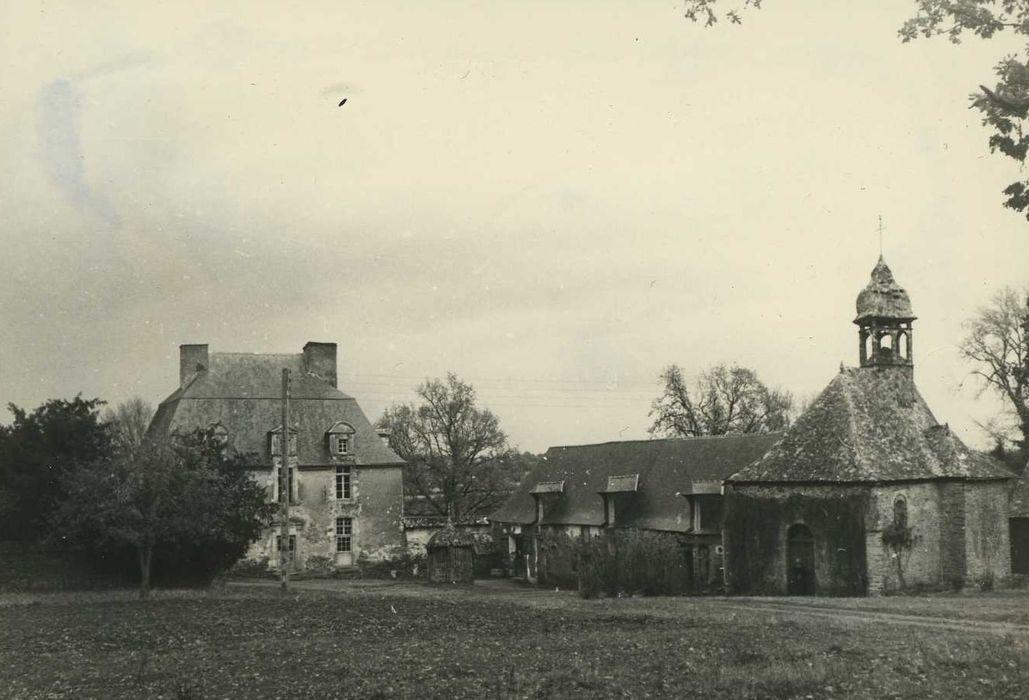 Manoir de la Roche: Ensemble sud-ouest, vue générale