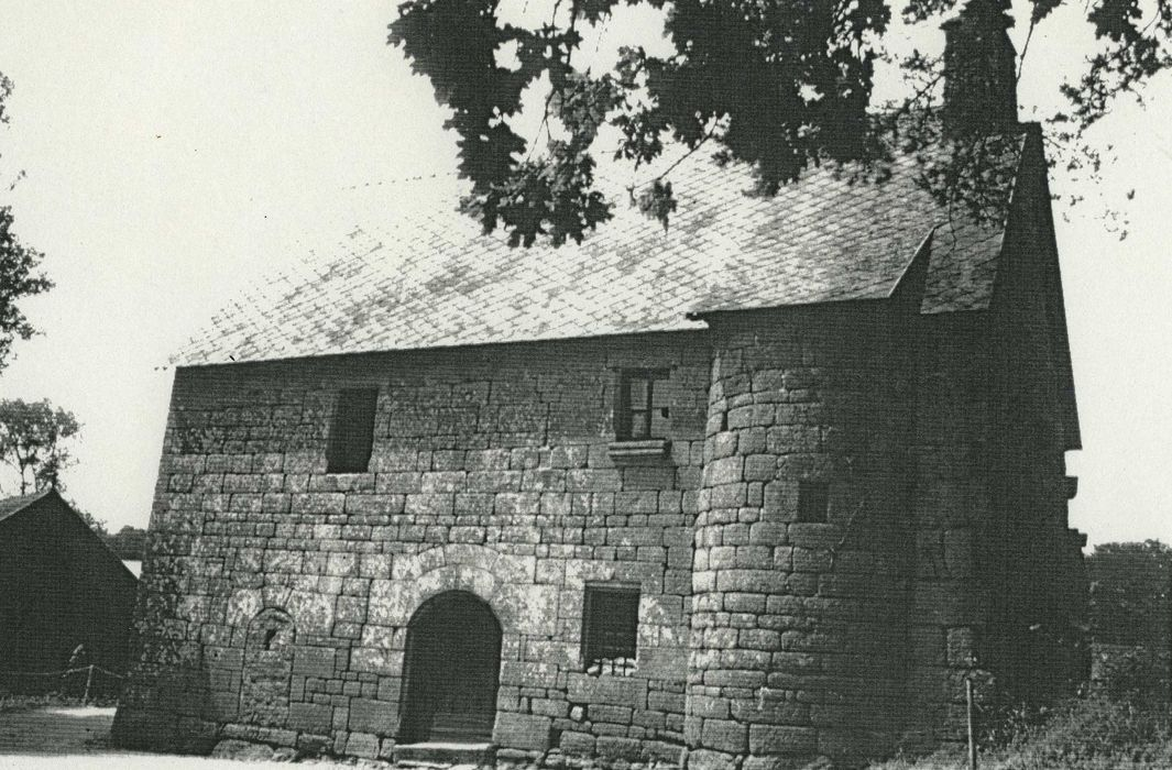 Maison ou grange de la Gélinais: Façade sud, vue générale