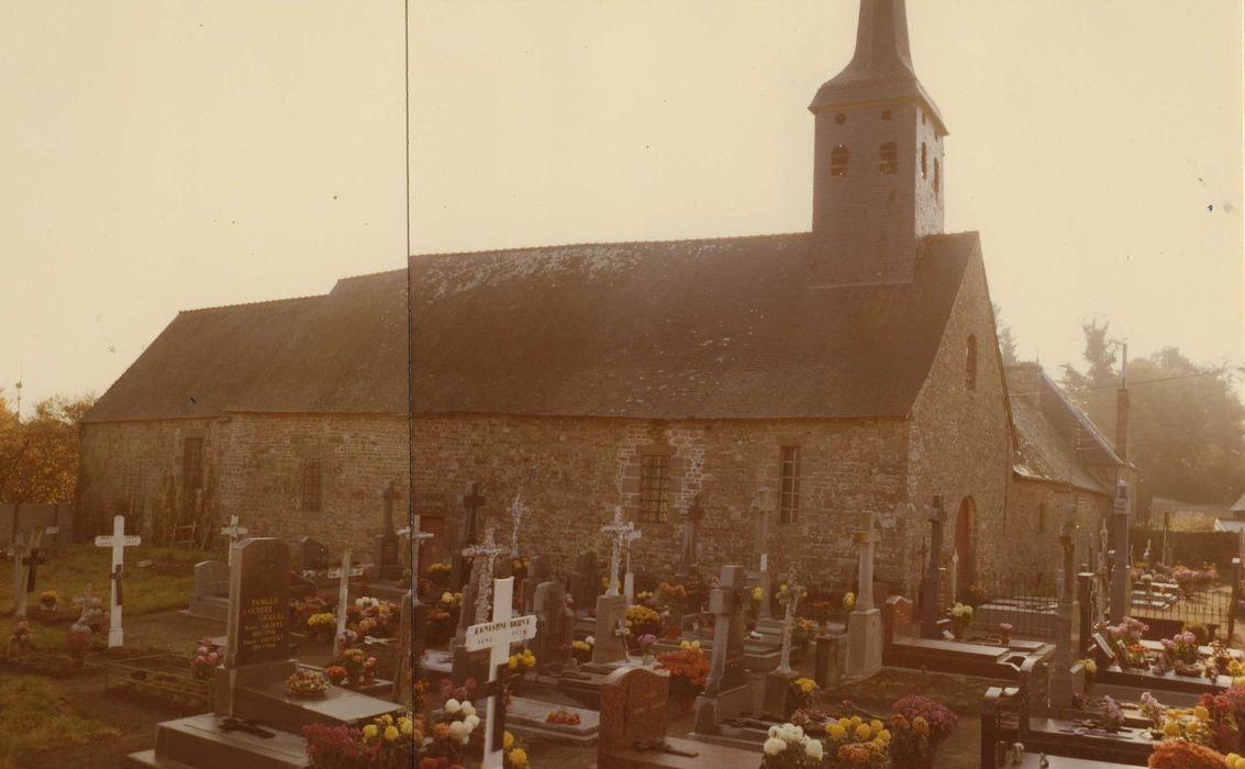Eglise Saint-Léger et presbytère attenant