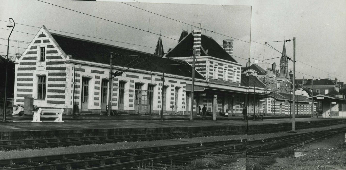 Gare: Ensemble sud, vue générale