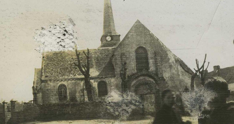 Eglise Saint-Cyr et Sainte-Julitte: Façade occidentale, vue générale
