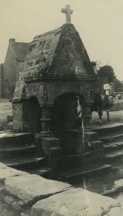 Fontaine de Saint-Brieuc: Vue générale
