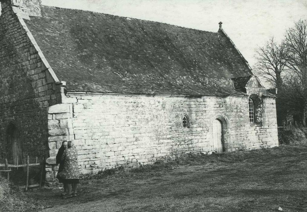 Chapelle Saint-Clément: Façade latérale sud, vue générale