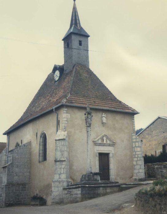 Eglise (ancienne chapelle Saint-Genest): ensemble nord-est, vue générale