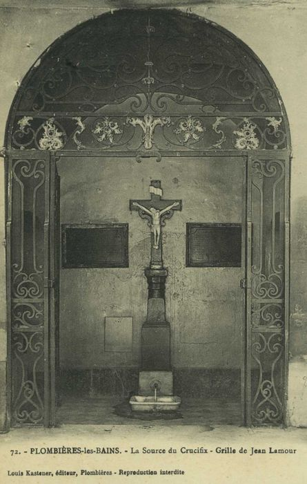 Fontaine dite Source du Crucifix