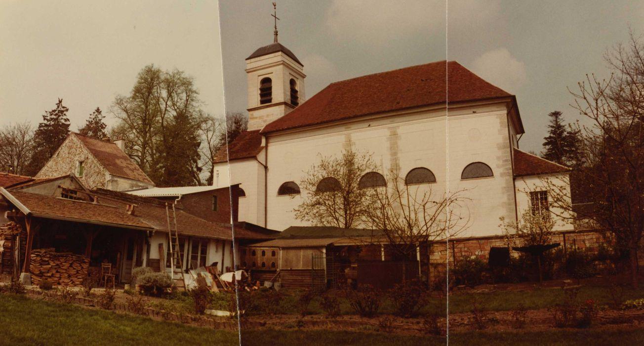 Eglise Saint-Martin: façade latérale sud, vue générale