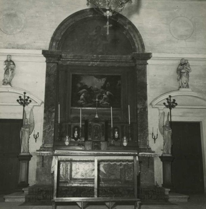 Tableau du maître-autel : Dieu le Père